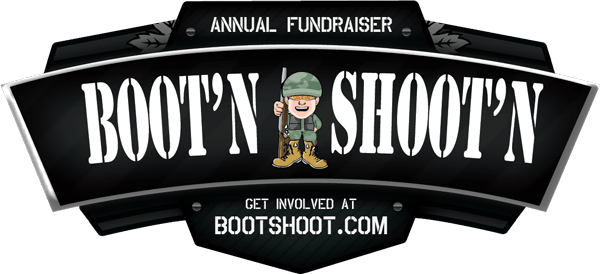 Boot'n & Shoot'n logo