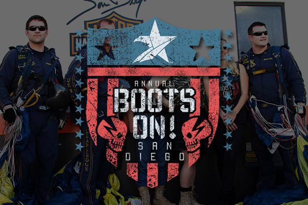Boots On San Diego event, no longer active